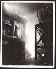 Original ORSON WELLES 1942 crazy candid JOURNEY INTO FEAR film noir STAMP snipe