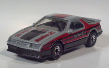 "Matchbox 1984 Dodge Daytona Turbo Z 3"" Die Cast 1:58 Scale Model Silver -Nice!"