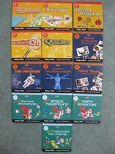 Encyclopaedia Britannica set x 13 PC CR-ROM Puzzles Adventure Biology Universe