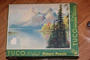 Complete Vintage TUCO Deluxe Picture Puzzle #3905 Made in USA 300-500 pieces