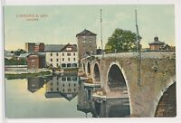 Limburg a d Lahn Lahnpartie 1908 Feld-Postbrief 6. Garde Ersatz-Bateillom