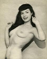Bettie Page Gardiner Mulvaney Original Mounted Fine Art Manipulated Photograph