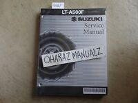 2000 2001 SUZUKI LT-A500F Service Manual OEM **SEALED**