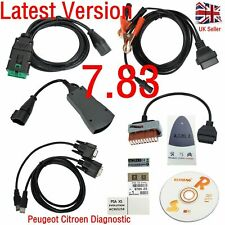 LEXIA 3 FULL CHIP PEUGEOT CITROEN DIAGNOSTIC PP2000 DIAGBOX V48 CAN BUS 7.83 UK