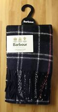 barbour scarf 100% Lambs wool.