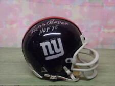 ROSIE BROWN SIGNED NEW YORK GIANTS MINI HELMET HOF75 RIP!