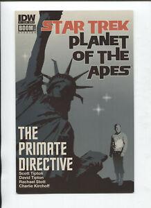 Star Trek Planet Of The Apes #1b