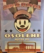 Disneyland California Adventure Oswald Tin Sign, NEW