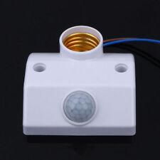 E27 220V Body Motion Sensor Automatic Lamp Holder Switch Light Base Infrared PIR