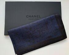 Chanel scarf handkerchief SILK bleu de chanel miniature 1,5 ml RARE VIP GIFT