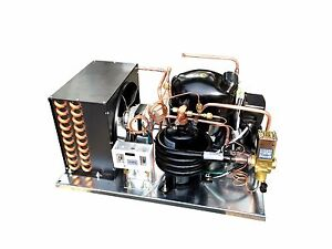 Combo Air+Water Cooled Condensing Unit, 3/4 HP, High Temp R134a, 220V (NJ6220Z2)