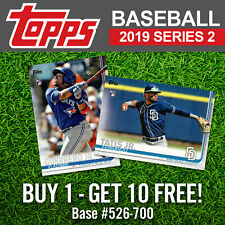 2019 Topps Series 2 Complete Your Set Pick List 526-700 - BUY 1 GET 10 FREE!