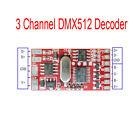 6A 144W 3 Channel DMX512 Decoder Board LED DJ RGB Stage Lighting Driver Module