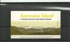 ASCENSION ISLAND-SG SB3A 1981 BOOKLET MNH