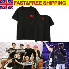 UK Kpop Bangtan Boys Tshirt Love Yourself Answer T-shirt BTS JIMIN V Tee Tops