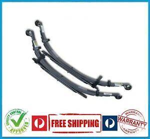 HOLDEN COLORADO RC 4X4 08-11 REAR RAISED LEAF SPRINGS - 300KG - CONSTANT - PAIR