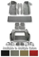 78-82 Chevrolet Corvette Complete Cutpile Replacement Carpet Kit - Choose Color
