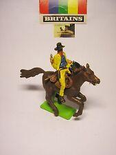 Soldatino toy soldier Britains LTD Cowboy a cavallo plastica scala 1:32