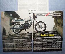 MOTOSPRINT982-PROVA / TEST-1982- APRILIA 125 ST - 3 fogli