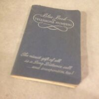 VTG Southwestern Bell Telephone Company Little Blue Book of Telephone Numbers