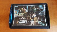 LOT *vintage STAR WARS mini action figure collector's case AND PARTS kenner