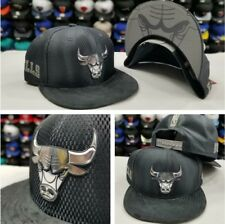 New Era NBA Gray Chicago Bulls On Court Draft Collection 9Fifty Snapback Hat Cap