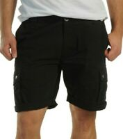 Adidas originals Trefoil Logo black men cargo shorts RRP £60 X33316