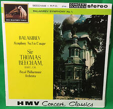 Balakirev Symphony no. 1 Sir Thomas Beecham LP HMV sxlp 30002  b10