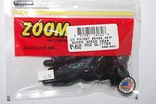 BLACK RED GLITTER 146-001 ZOOM MAG UV SPEED CRAW