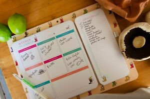 Magnetic Weekly Meal Planner for Fridge, Plan you week and stick to your goals