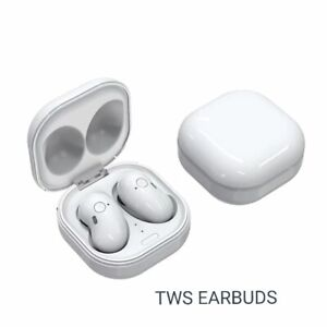 White bluetooth 5.0 Earbuds 2200mAh Charging Box Wireless  9D Stereo speaker