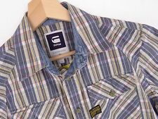 al1728 G-Star Raw Camicia Maglietta NUOVO Arizona Cross Check ORIGINALE PREMIUM