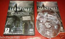 SCRATCHES EDITION COLLECTOR PC CD-ROM PAL  WINDOWS