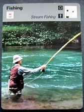 1977-1979 Sportscaster Card Stream Fishing 01-13