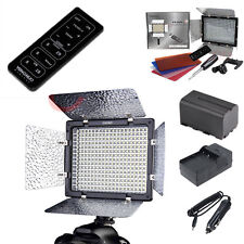 YN-300 II LED Video Light +NP-F750 Battery +Charger For Camera DV Camcorder DSLR