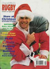 SCOTTISH RUGBY Dec 1995 SCOTLAND MAGAZINE
