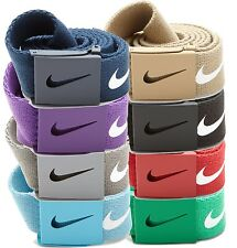 Nike Golf Tech Premium Essentials Web Belt Any Size Up to 42 Multi-Color Options