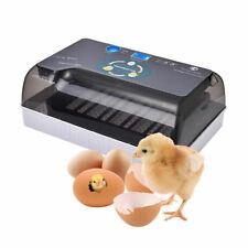 12 Eggs Automatic Hatcher Tray Bird Quail Egg Turning Machine Digital Incubator