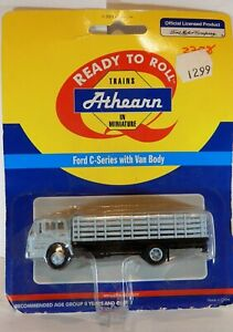 HO SCALE  ATHEARN FORD C SERIES WITH STAKE BODY  DENVER & RIO GRANDE WESTERN
