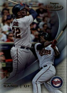 2016 (Minnesota Twins) Topps Gold Label Class 2 #63 Miguel Sano