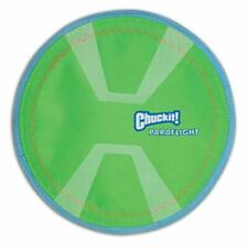 "1- CHUCKIT MAX GLOW PARAFLIGHT PARA FLIGHT LARGE 9.75"" DOG TOY"