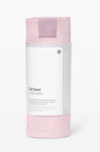 NEW lululemon The Towel Ballet Slipper Yoga Mat Towel Pink Gym Workout - NWT
