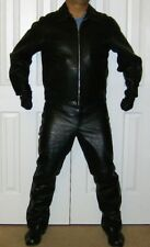"Gap ""Everyone in Leather"" Motorcycle Jacket XL and Pants 36"