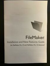 FileMaker Pro 10 UPGRADE for Mac and Windows, New, Sealed CD w/ License Key