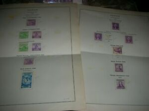US singles  stamps1932,3 - 40s 2c   M  nicely centered + FDR Plate Block set