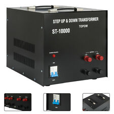 10000 Watt Step Up & Down Electric Power Voltage Converter 110V-220V Transformer
