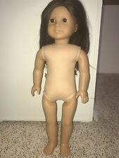Authentic American Girl Doll Retired Girl of the Year Jess Brown Hair Brown Eyes