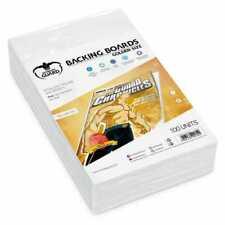 Golden Misura Protezione Fumetti Zaino (Blanc) 193X266mm Ultimate Guard 100.New