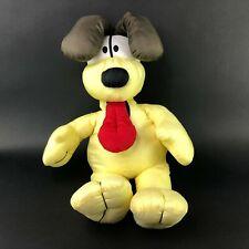 "Odie Nylon Plush Garfield Puppy Dog Comic Stuffed Animal Pillow Large 27"""