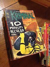KRIMINAL EDITORIALE CORNO MAX BUNKER FUMETTO NOIR N°95 1967 ORIGINALE VINTAGE